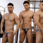 Japanese Men BIKINI GX3 DENIMIX STRAP BIKINI 3PACK